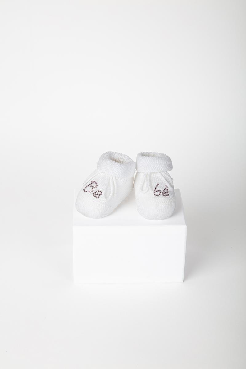 Babbuccia Bebè Strass 41735 Bianco 2