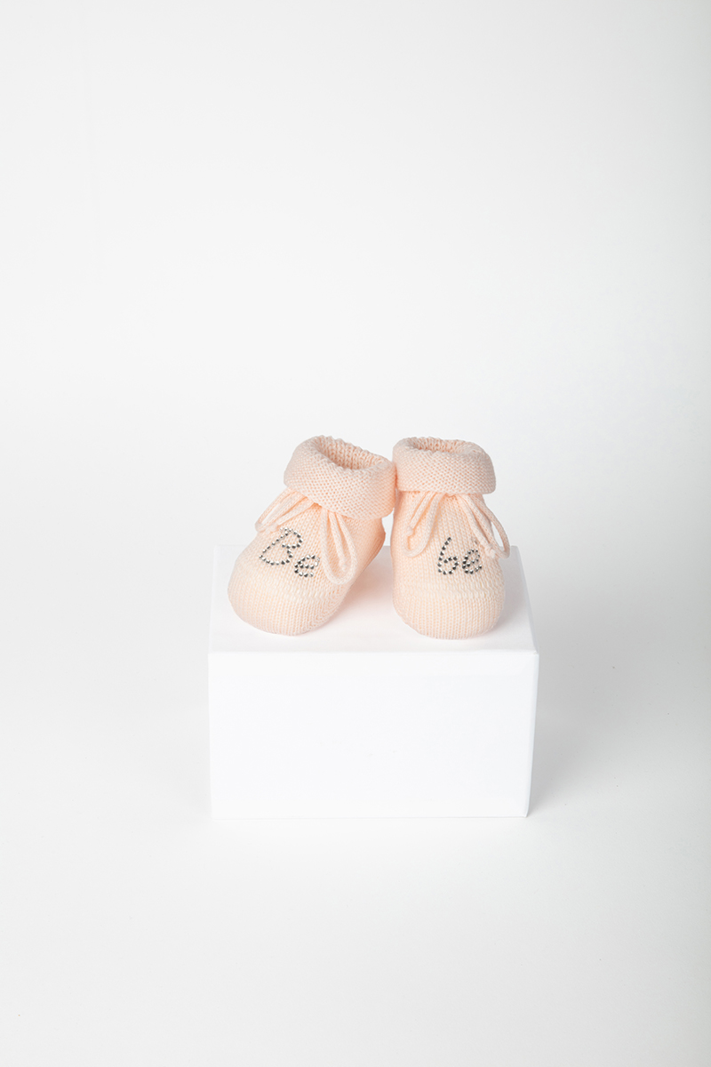 Babbuccia Bebè Strass 41735 Rosa 2