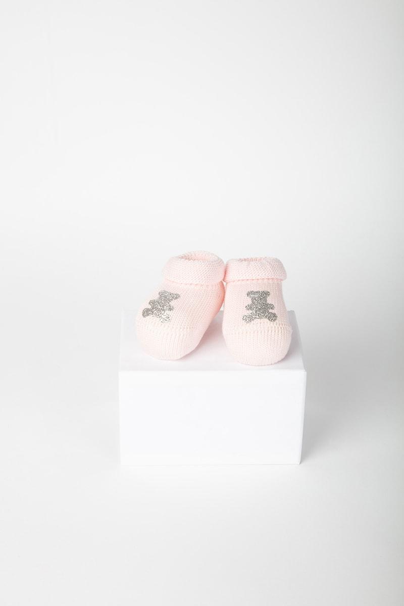 Babbuccia Orsetto Glitter 42030 Rosa 2