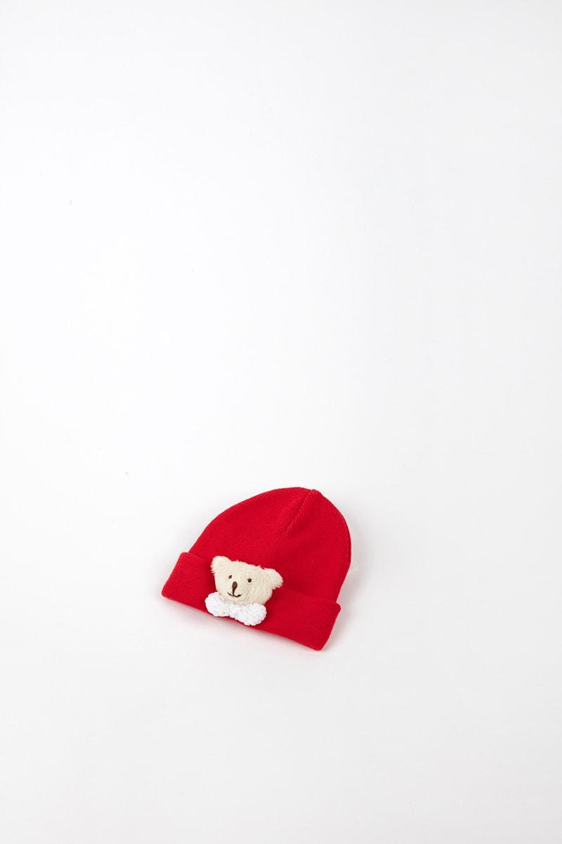 Cuffia Orsetto 42477 Rosso 4