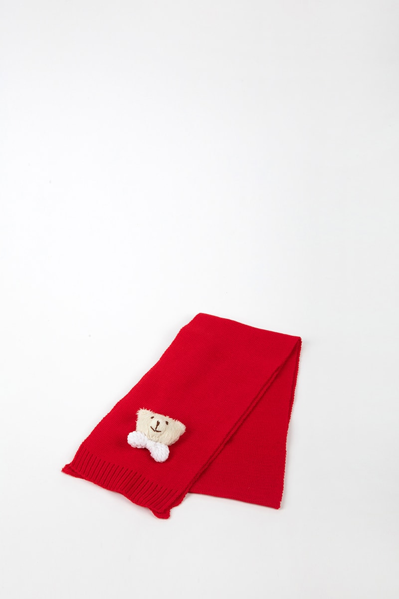 Cuffia Orsetto 42477 Rosso 2