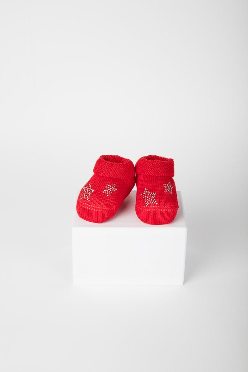 Babbuccia Stella 42653 Rosso 2