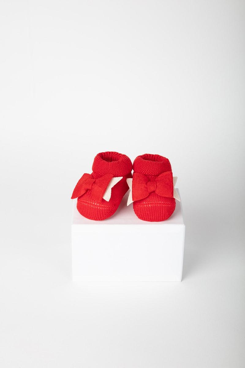 Babbuccia Fiocco 42653 Rosso 2