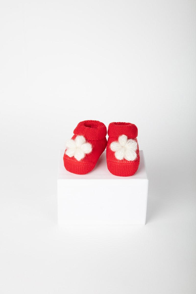 Babbuccia Fiore 42653 Rosso 2