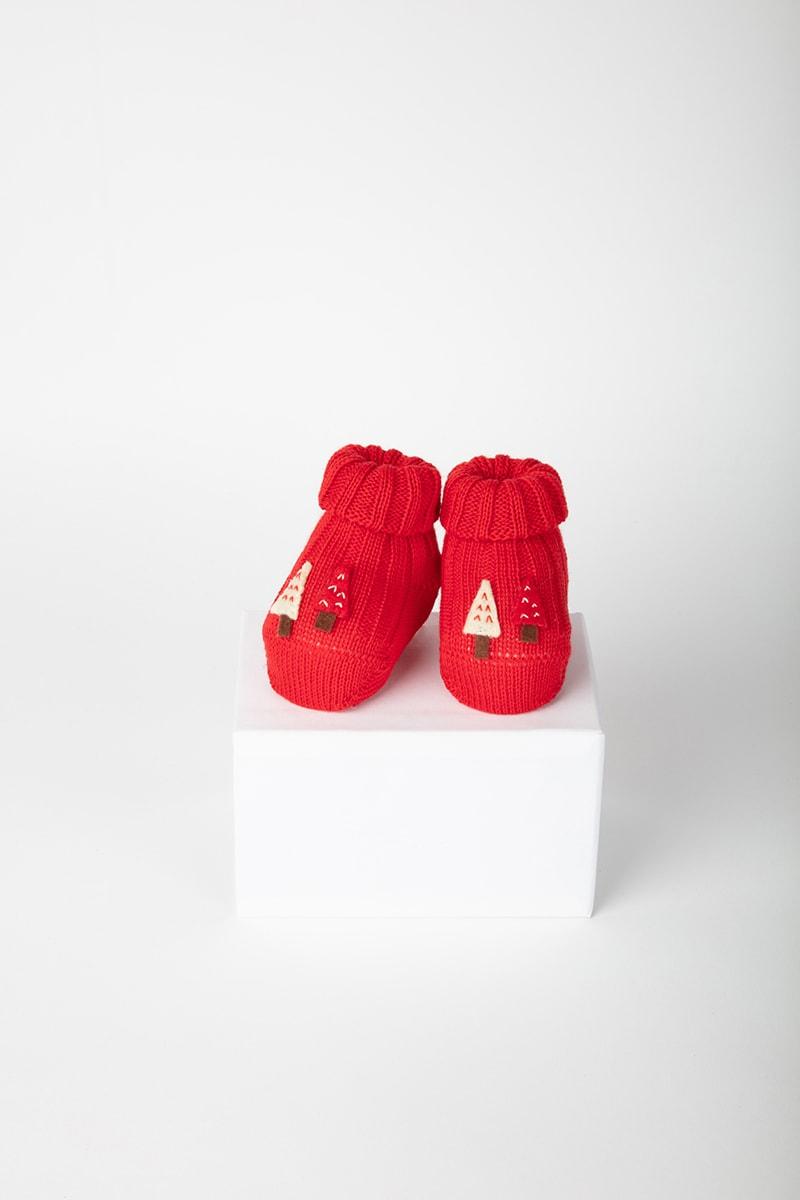 Babbuccia Alberi 42654 Rosso 2