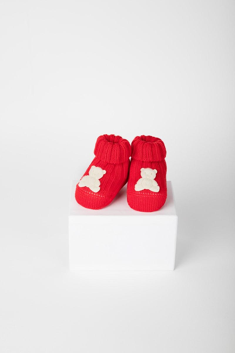 Babbuccia Orso 42654 Rosso 2