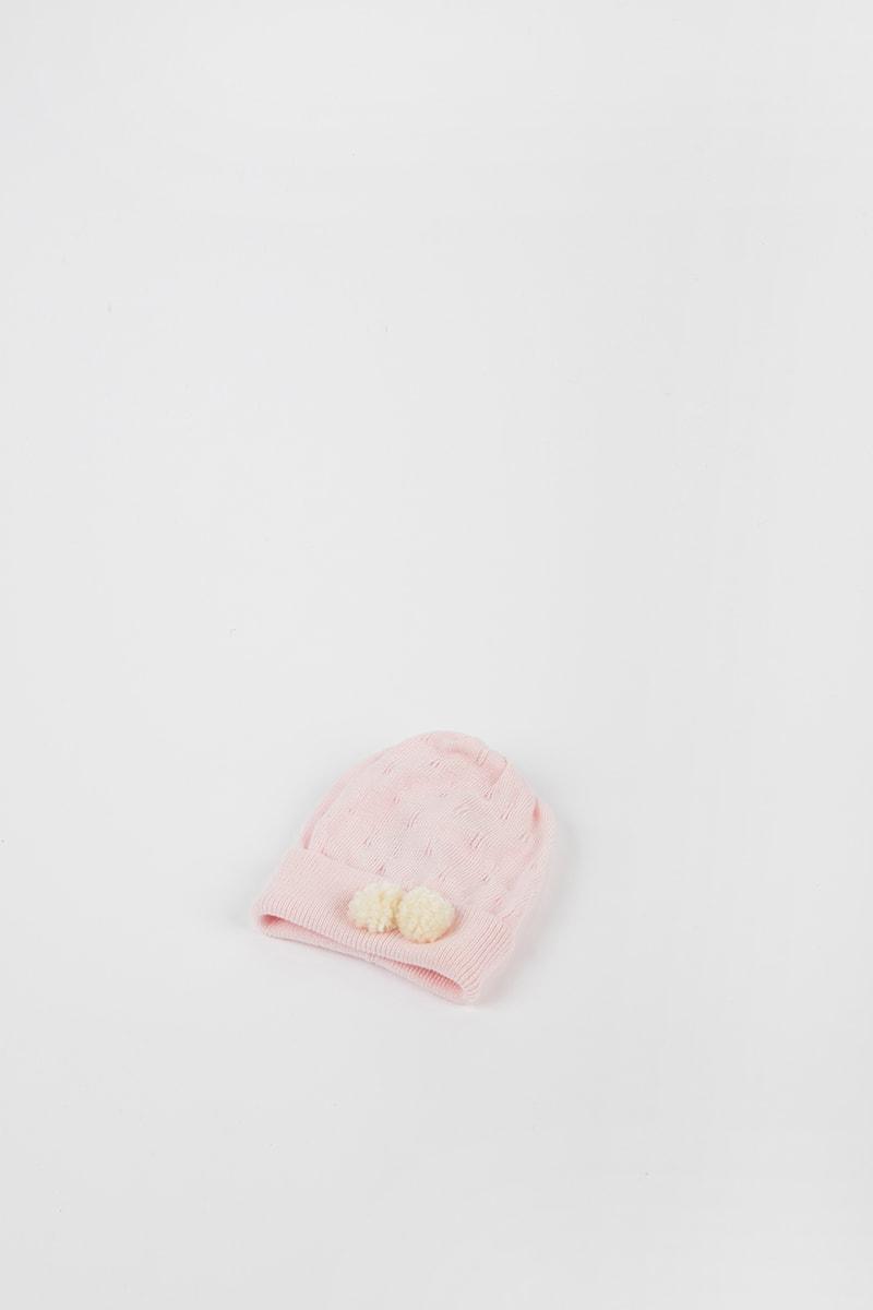 Cuffia Pom Pom 42694 Rosa 2