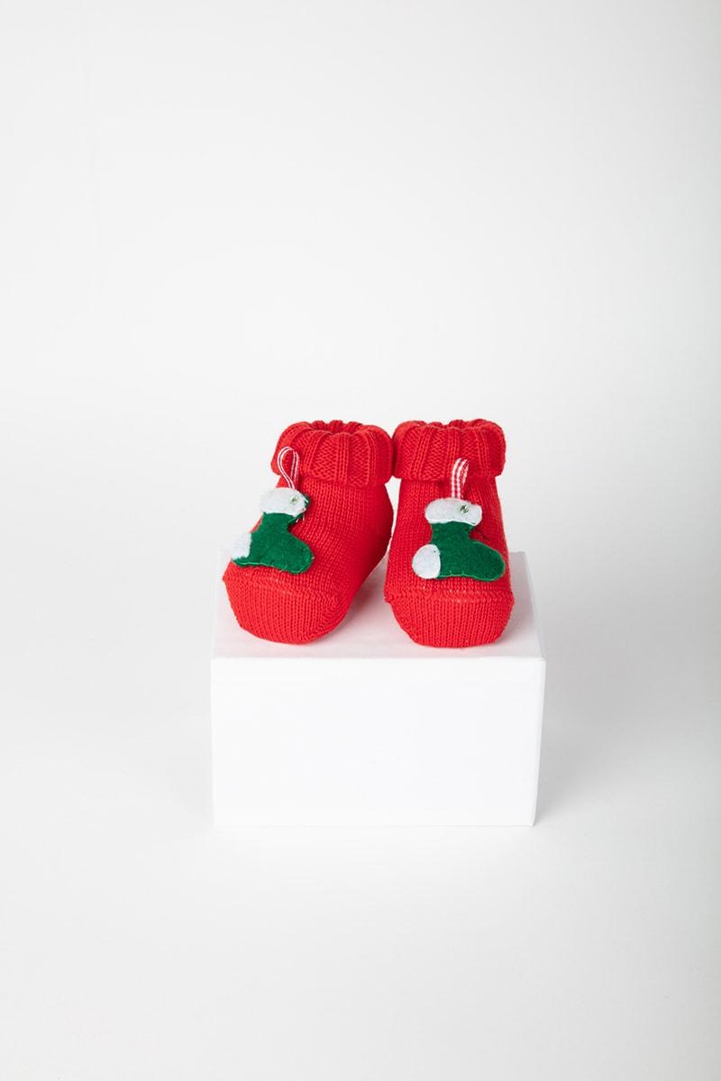 Babbuccia Calza Natale 42872 Rosso 2