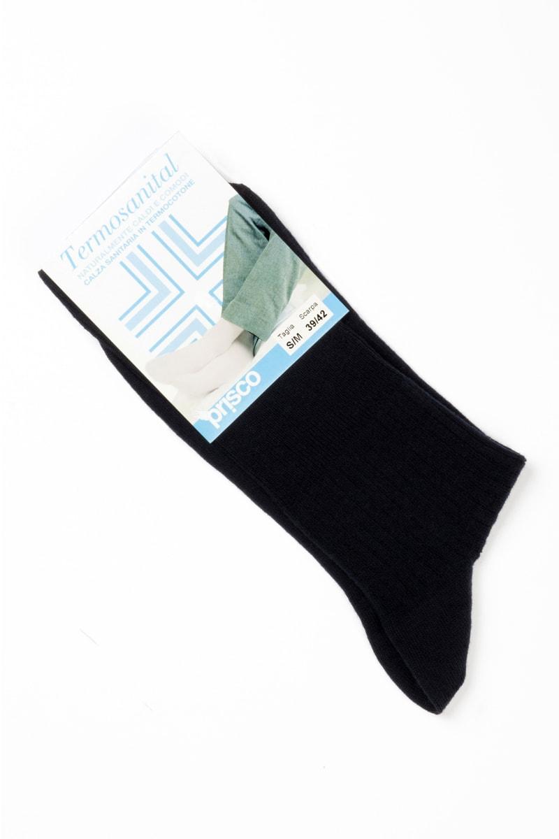 Termosanital Corto calza sanitaria in caldo cotone 6 paia 2
