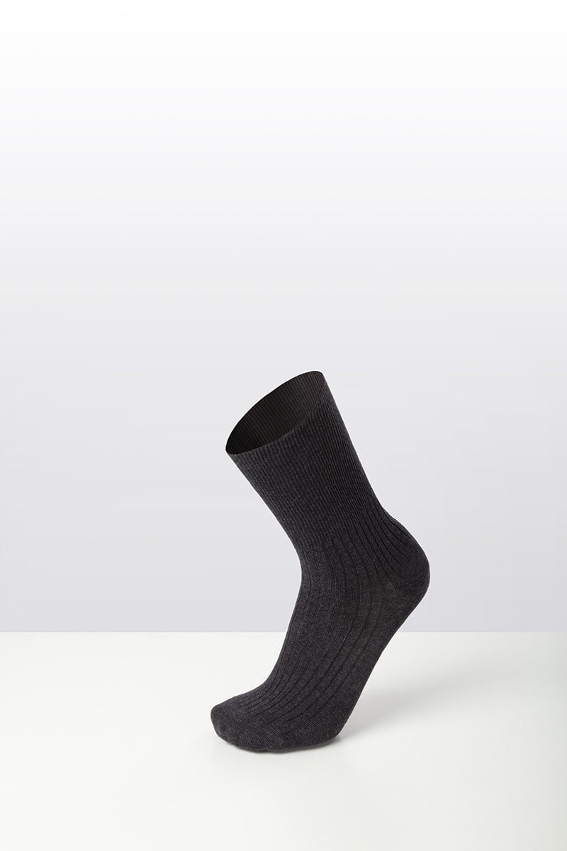 Termosanital Corto calza sanitaria in caldo cotone 6 paia 3