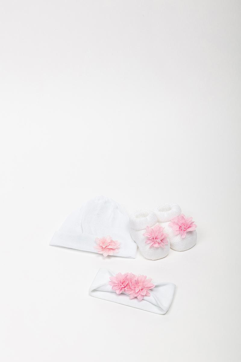 Babbuccia 42752 Bianco/Lilla 2