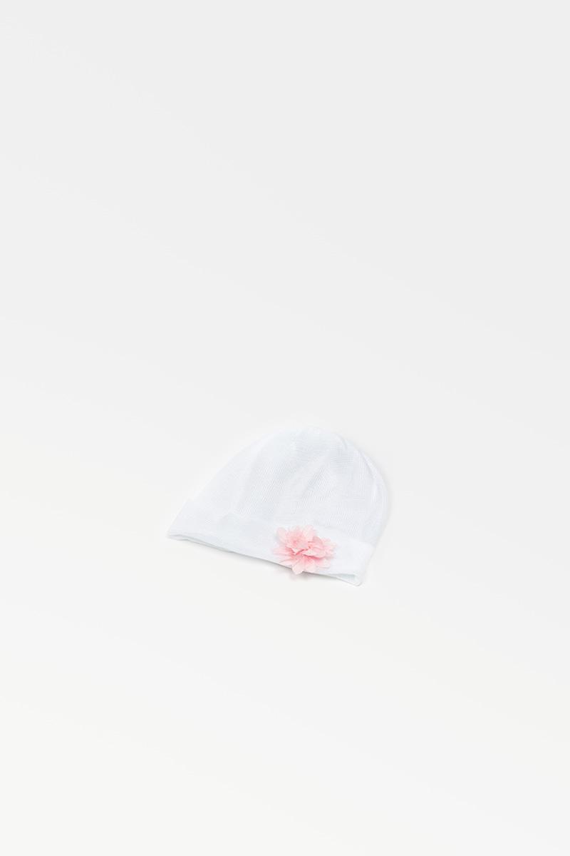 Cuffia 42783 Bianco/Rosa 3